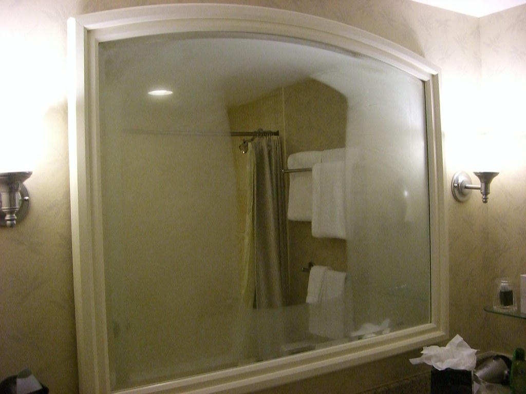 How To Keep My Bathroom Mirror From Fogging Up