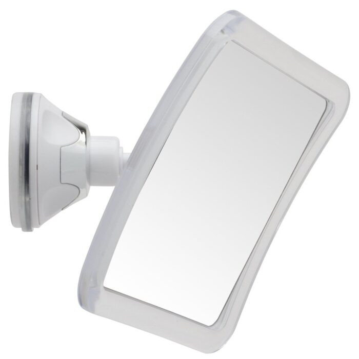 Mirrorvana Fogless Mirror For Shaving With Lock Suction Cup